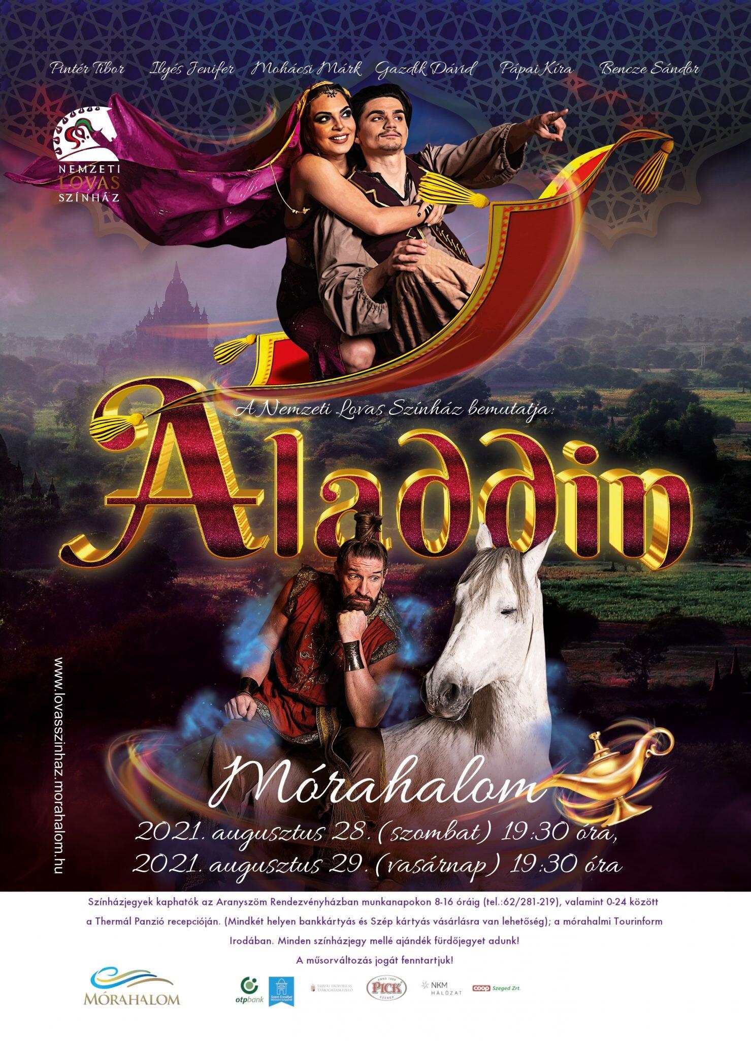 Aladdin 2021.08.28. (szombat)